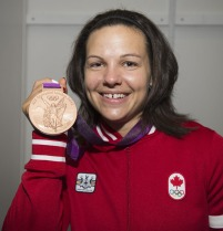 Christine won the bronze in London 2012. Credit @ olympics