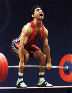 Boevski, incredible lifter with everything but big muscles.