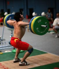 Chineses lifters seem to be fond of heavy pulls. Pulls have gotten a bad rep in the last few years in the Americas.