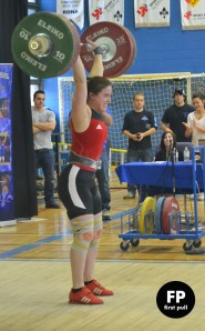 141 clean and jerk at Classique du Quebec.