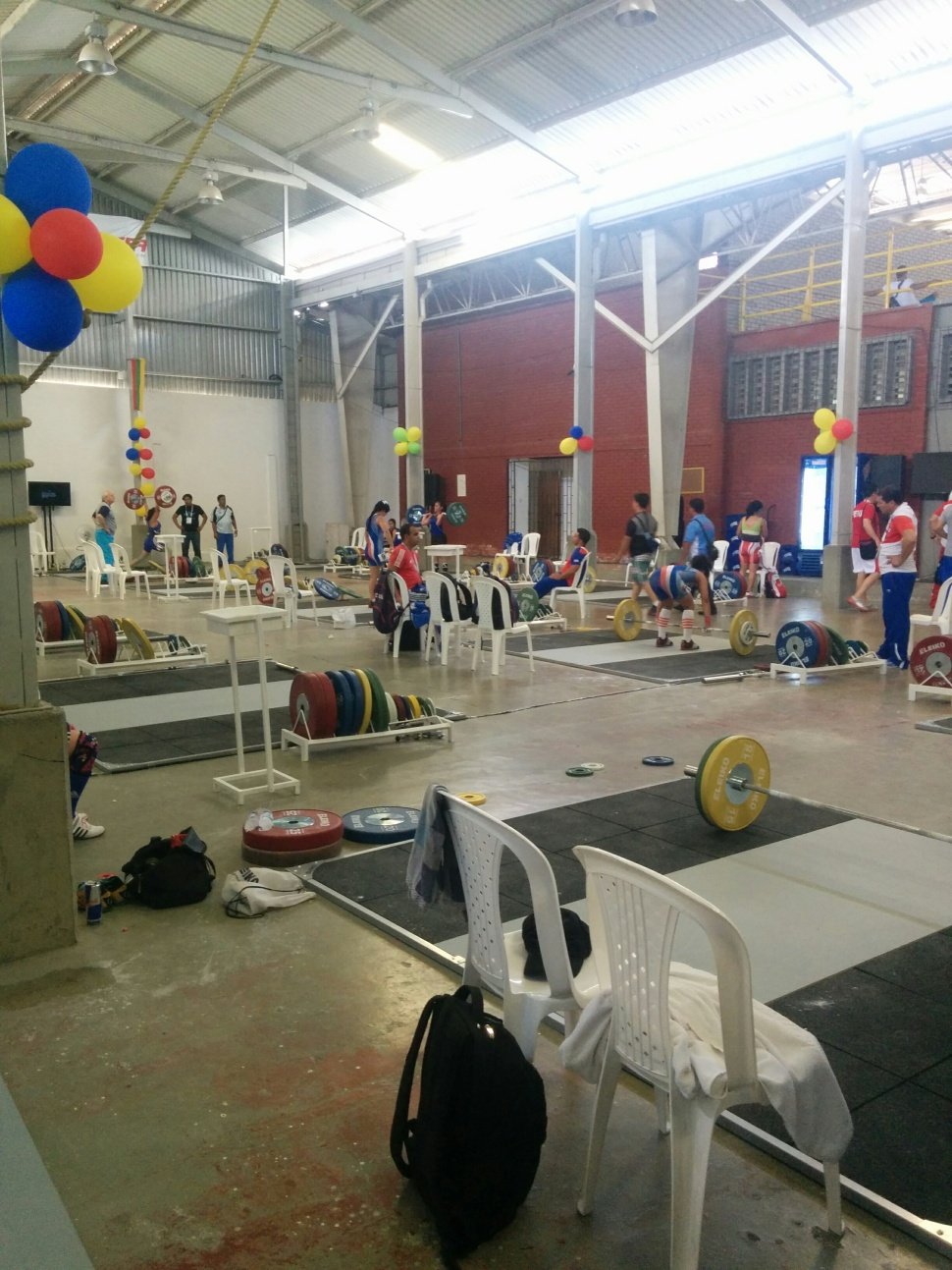 Training hall